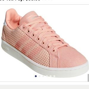 Dust Pink adidas Grand Court Knit Sneaker